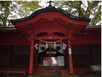 11国富町 本庄稲荷神社 ご拝殿.JPG