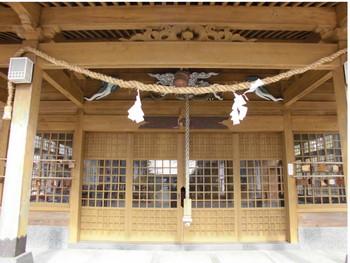 14串間市 串間神社 ご拝殿.JPG