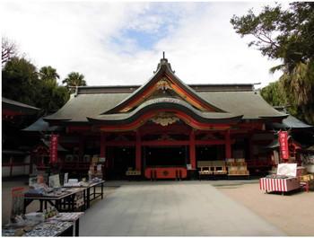 24宮崎市 青島神社 ご社殿3.JPG