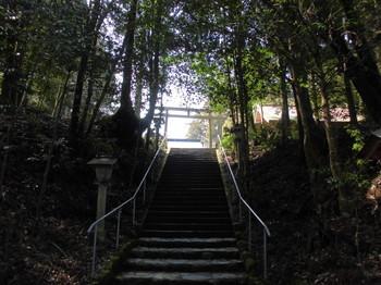 えびの市 白鳥神社 参道階段.JPG