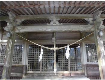三股町 御崎神社 ご拝殿.JPG