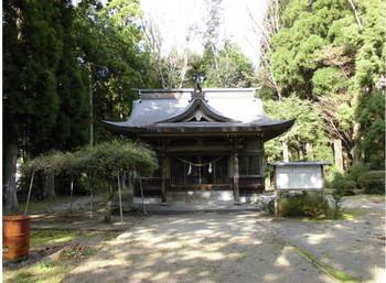 三股町 御崎神社 ご社殿.JPG