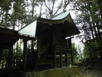 北川町 長井神社 ご本殿.JPG