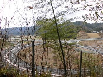 北川町 長井神社 境内から見た風景.JPG