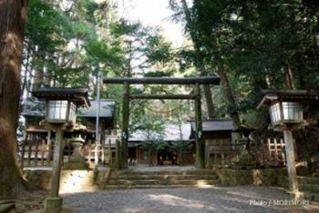 天岩戸神社 東本宮 拝殿前鳥居.PNG