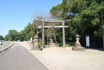 宮崎市1 江田神社 正面鳥居.jpg
