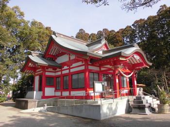 宮崎市 大塚八幡神社 ご社殿2.JPG