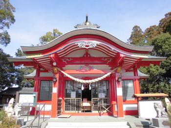 宮崎市 大塚八幡神社 ご社殿3.JPG