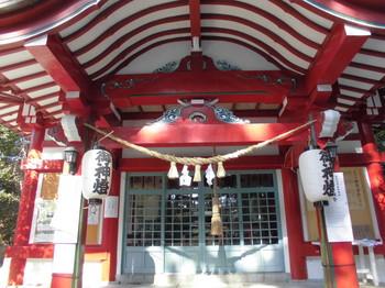 宮崎市 熊野神社 ご拝殿.JPG