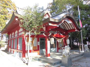 宮崎市 熊野神社 ご社殿2.JPG