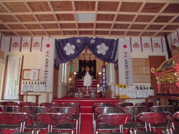 宮崎市 熊野神社 御社内.JPG