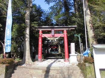 宮崎市 熊野神社 正面鳥居.JPG