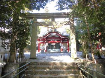 宮崎市 熊野神社 正面鳥居2.JPG