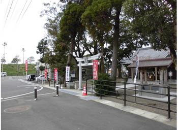 宮崎市 田元神社   入口付近.JPG