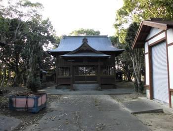 宮崎市 若宮神社 正面ご社殿1.jpg