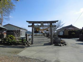 宮崎県 木城町 国玉神社 正面鳥居.JPG