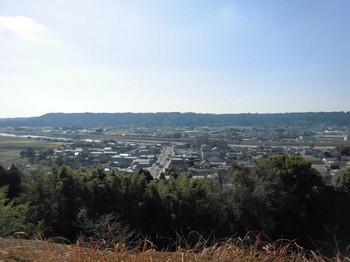 宮崎県 木城町 城山公園から望む木城の町.JPG