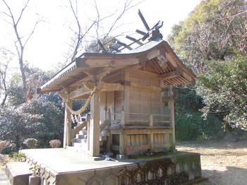 宮崎県 木城町 水分神社 ご本殿3.JPG