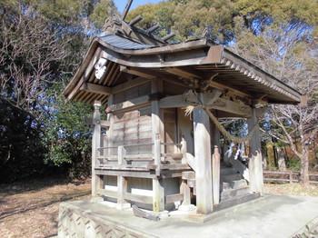 宮崎県 木城町 水分神社 ご本殿4.JPG