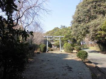 宮崎県 木城町 水分神社 正面鳥居.JPG