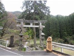 宮崎県延岡市北方町  猪野内神社2.PNG