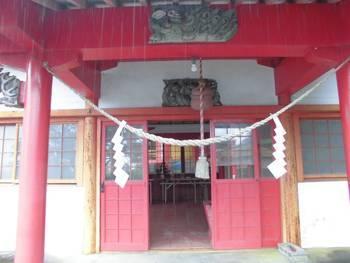 小林市7 稲荷神社(いなりじんじゃ)御拝殿2.jpg