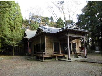 山之口  的野正八幡宮 ご社殿3.JPG
