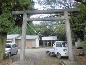 川南町1 上名貫神社 鳥居.jpg