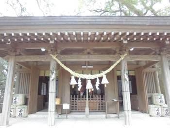 延岡市12 春日神社 ご拝殿.jpg