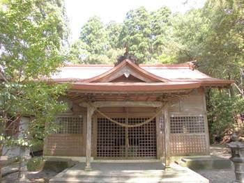 新富町8 新田神社 ご社殿3.jpg