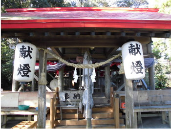 日南市 吾田神社 ご拝殿.JPG