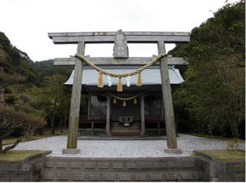 日南市 海神神社 正面鳥居2.JPG