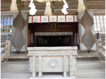 日向市 12大御神社 ご拝殿.JPG