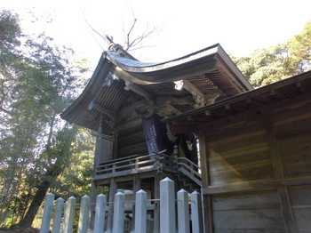 日向市平岩 愛宕神社 ご本殿.JPG