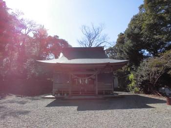 日向市平岩 愛宕神社 ご社殿3.JPG