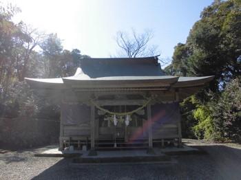 日向市平岩 愛宕神社 ご社殿5.JPG