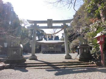 日向市平岩 愛宕神社 正面鳥居1.JPG