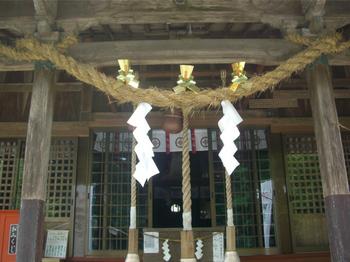 木城 比木神社 拝殿前.JPG