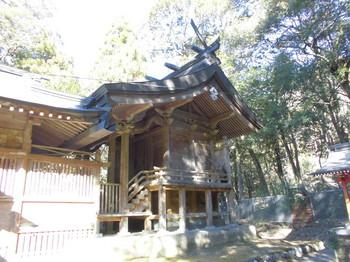 西米良村 村所八幡神社 ご本殿2.JPG
