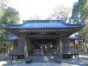 西米良村 村所八幡神社 ご社殿.JPG
