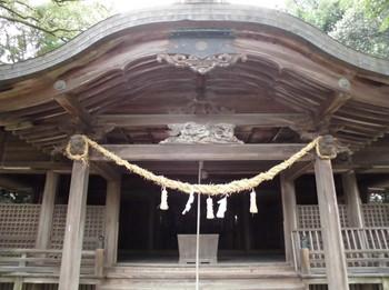 西都市 南方神社 ご拝殿.JPG