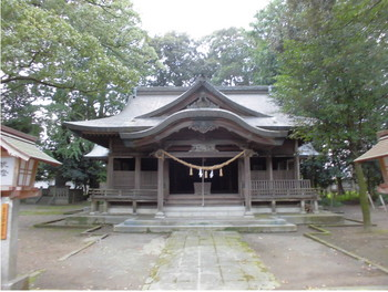 西都市 南方神社 ご社殿.JPG