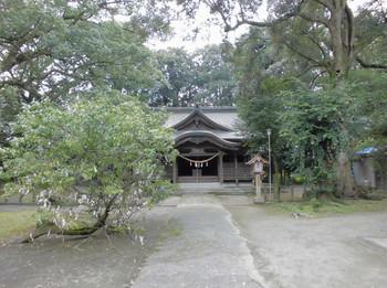 西都市 南方神社 社殿正面.JPG