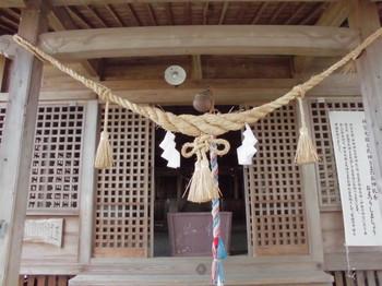 西都市 調殿神社 ご拝殿.JPG