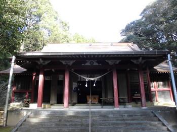 野尻町 高都萬神社 正面ご社殿2.JPG