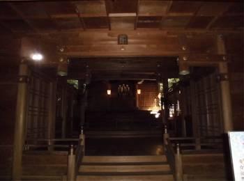 高千穂町11 槵觸神社 ご社殿内.jpg