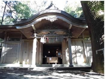 高千穂町9 槵觸神社 ご社殿.jpg