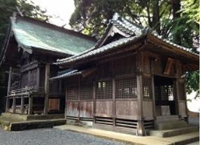 高千穂町 上野神社 ご社殿.PNG