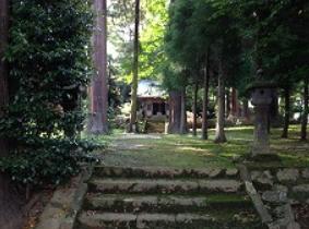 高千穂町 上野神社 参道.PNG