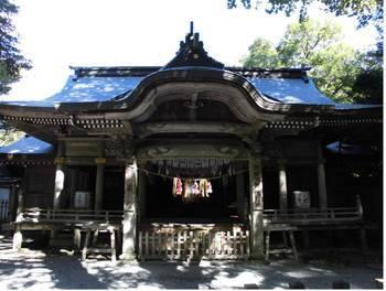 高千穂町13 天岩戸神社 神楽殿4.jpg